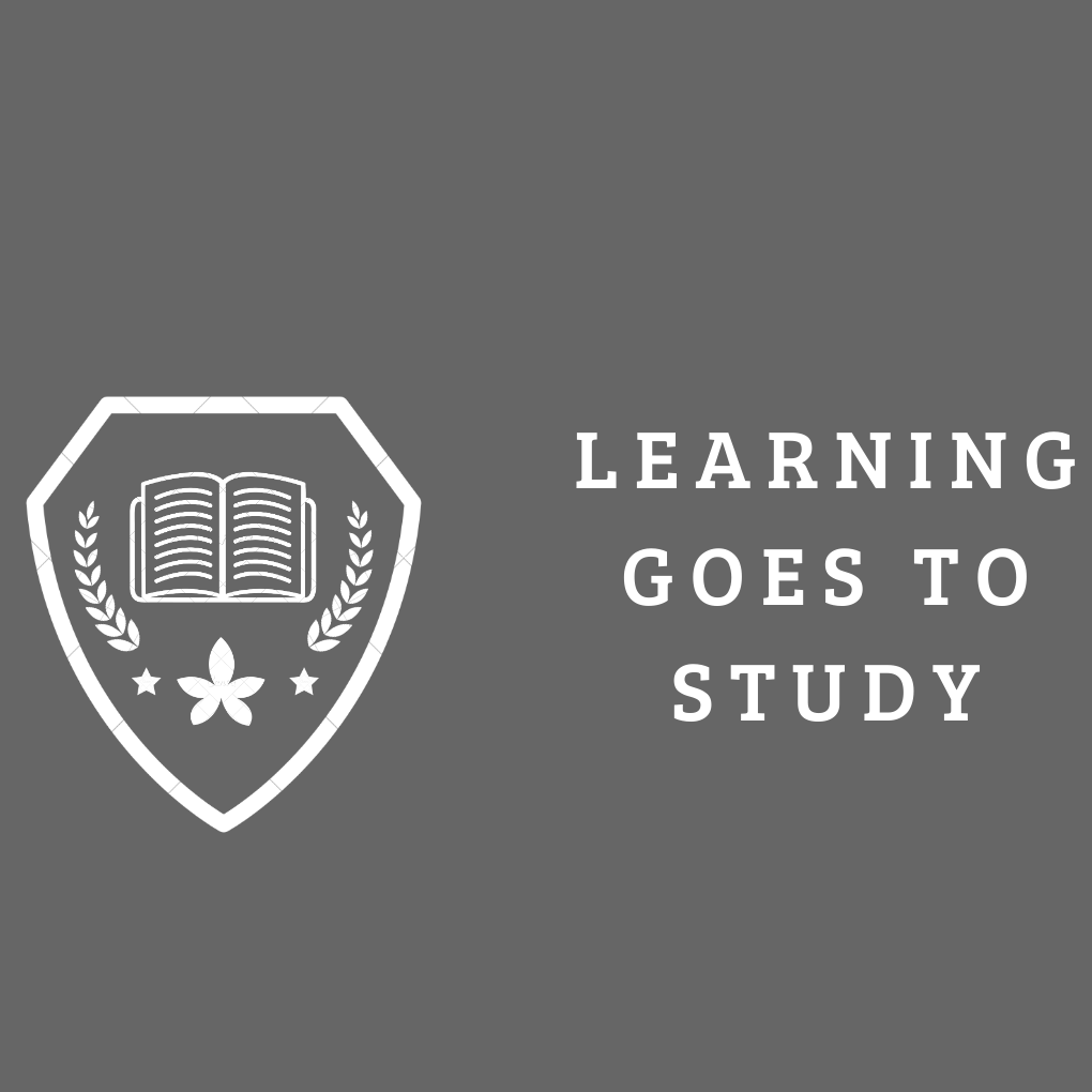 """Learning goes to Study"""